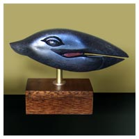 Whale Song - Stone Sculpture